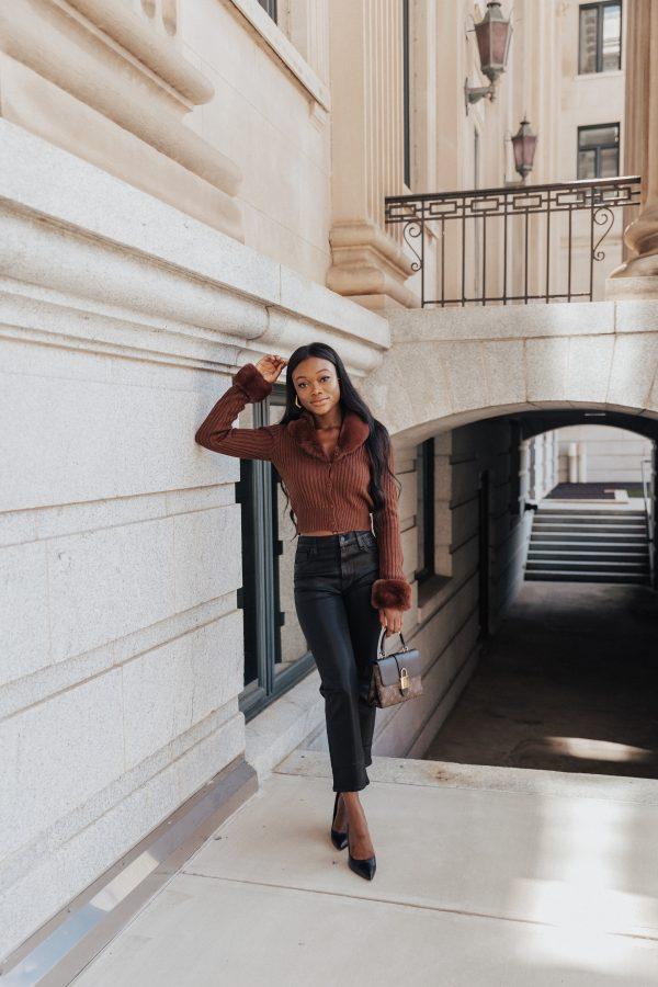 Styling Straight-Leg Jeans - Brenna Anastasia Blog